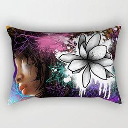 Beautiful In Distress Rectangular Pillow