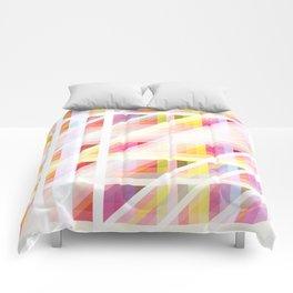colorful threedimensional retro redcap Comforters
