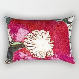 Camellia IV - series Rectangular Pillow