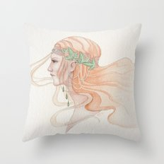 Lady of Lorien Throw Pillow