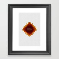 Call to Action  Framed Art Print