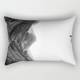 Lost in isolation Rectangular Pillow