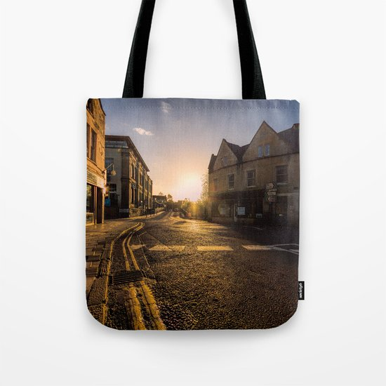 On my way sunset Tote Bag