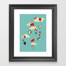 We Can Fly! Framed Art Print