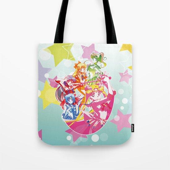 Sailor Moon Dots Team Tote Bag