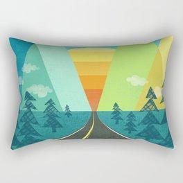 the Long Road Rectangular Pillow