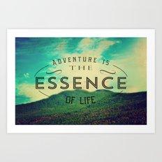 Essence Of Life  Art Print