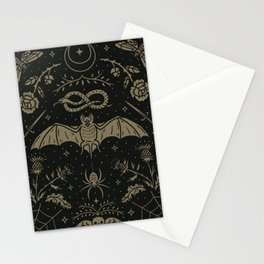 Cemetery Nights Stationery Cards