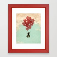 looking for serendipity Framed Art Print