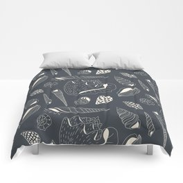 Sea shells pattern Comforters