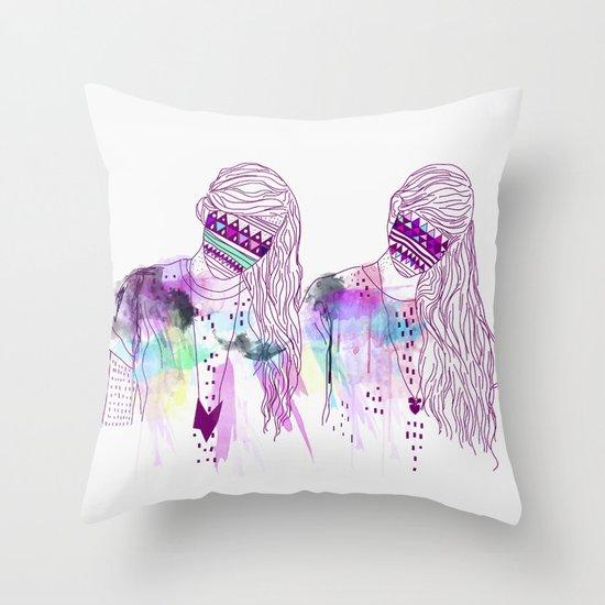 ▲GIRLS▲ Throw Pillow