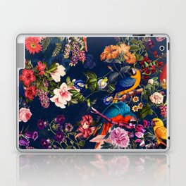 FLORAL AND BIRDS XII Laptop & iPad Skin