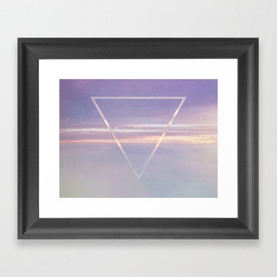 TriSky Framed Art Print