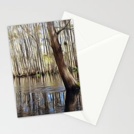 Standing strong against the current Stationery Cards
