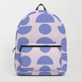Shapes in Periwinkle Backpack