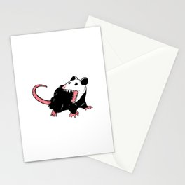 Yaaaaas Possum Lover Gift Stationery Cards