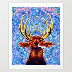 High Deer Art Print