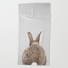 Rabbit Tail - Colorful Beach Towel