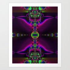 Abstract Fractal Fantasy 2 Art Print