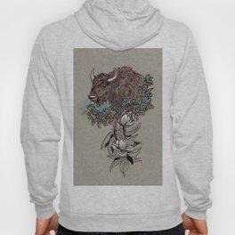 Buffalo Wildflower and Magnolias Hoody