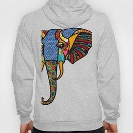 Primary Tribal Elephant Hoody