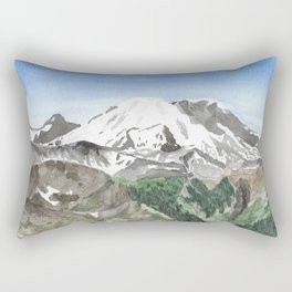 The Heart of Washington Rectangular Pillow