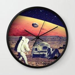 Car repair Wall Clock