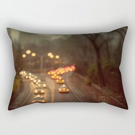 Taxicab Confessions - New York Rectangular Pillow
