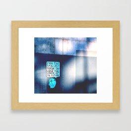 Smallest Person Framed Art Print