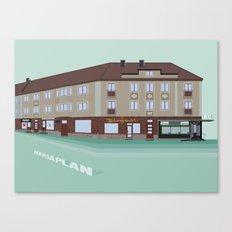 Mariaplan Landshövdingehus Canvas Print