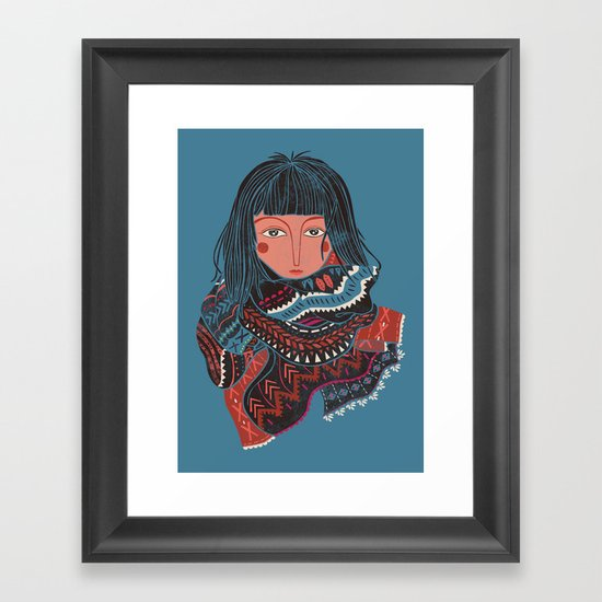 The Nomad Framed Art Print