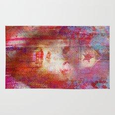 wonder abstract woman Rug