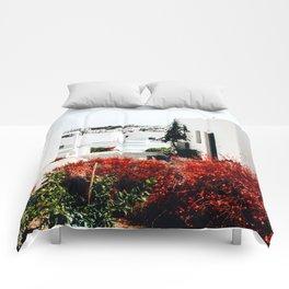 Cubed   Koufonisia, Greece Comforters