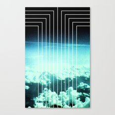 Straight to Blue Canvas Print