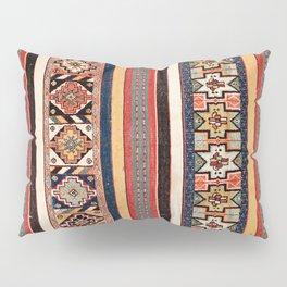 Salé  Antique Morocco North African Flatweave Rug Print Pillow Sham