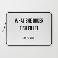 Fish fillet Laptop Sleeve