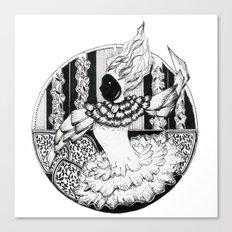 circus chic Canvas Print