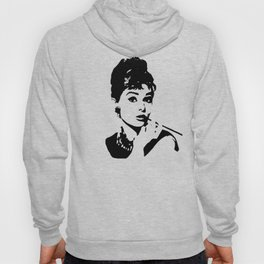 PORTRAIT OF AUDREY THE 1960's FASHION ICON AND MOVIE STAR Hoody
