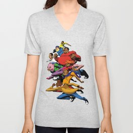 Fat Albert and the gang Unisex V-Neck