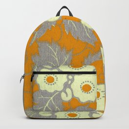 Gold Blossoms Backpack