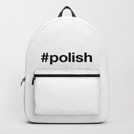 POLISH Hashtag Backpack