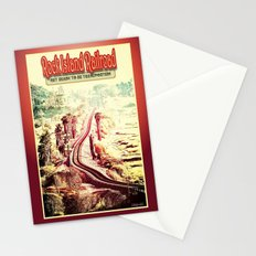 Rock Island Railroad Poster Stationery Cards