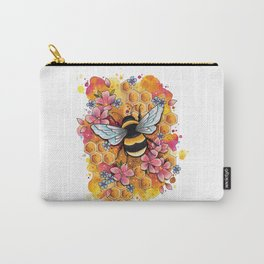 Neo Traditional Bee Carry-All Pouch