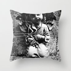 Innocence captured Throw Pillow
