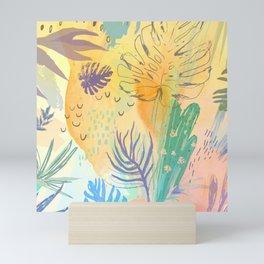 Desert Sun Pattern Mini Art Print