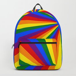Eternal Rainbow Infinity Pride Backpack