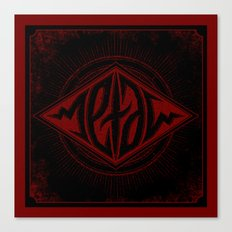 Metal Ambigram Canvas Print