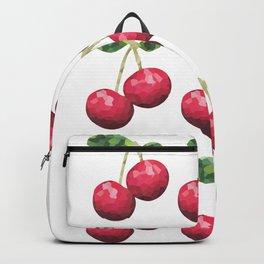 cherries pattern, fill, repeating, tiled | elegant Backpack