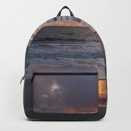 Iridescent Carmel Sunset Backpack