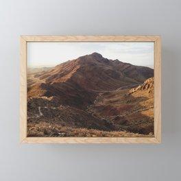 El Paso Framed Mini Art Print